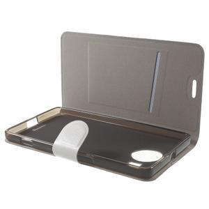 Horse Peňaženkové puzdro pre Microsoft Lumia 950 XL - biele - 5