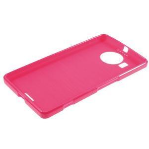 Jelly lesklý gélový obal pre mobil Microsoft Lumia 950 XL - rose - 5