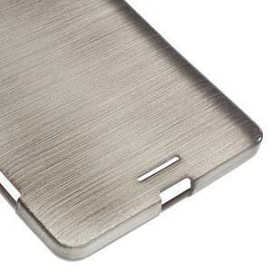 Brushed gelový obal na mobil Microsoft Lumia 950 XL - černý - 5