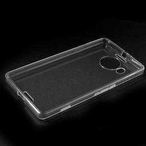 Transparentný gélový obal pre Microsoft Lumia 950 XL - 5
