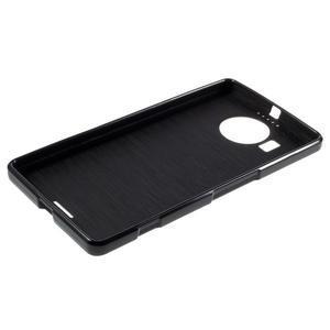 Jelly lesklý gelový obal na mobil Microsoft Lumia 950 XL - černý - 5