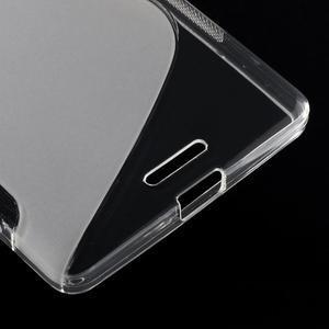 S-line gélový obal pre mobil Microsoft Lumia 950 XL - Transparentný - 5