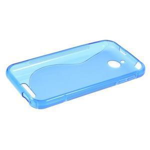S-line gélový obal pre mobil HTC Desire 510 - modrý - 5