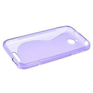 S-line gélový obal pre mobil HTC Desire 510 - fialový - 5