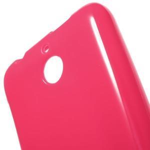 Jelly lesklý gelový obal na HTC Desire 510 - rose - 5