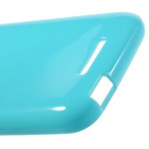 Jelly lesklý gelový obal na HTC Desire 510 - světlemodrý - 5