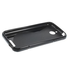 S-line gélový obal pre mobil HTC Desire 510 - čierný - 5