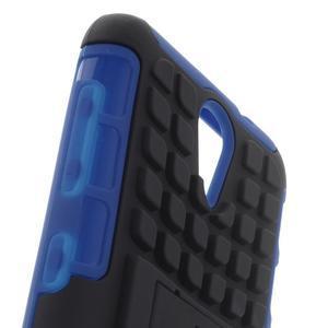 Outdoor odolný obal na mobil HTC Desire 620 - modrý - 5