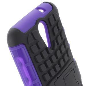 Outdoor odolný obal pre mobil HTC Desire 620 - fialový - 5
