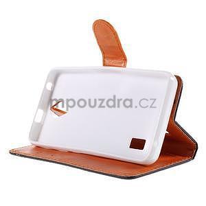 Zapínacie peňaženkové puzdro na Huawei Y635 - fishbone - 5