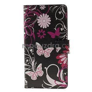 Peňaženkové puzdro na Huawei Y635 - motýlikové - 5