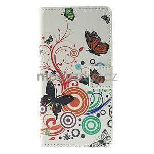 Peňaženkové puzdro na Huawei Y635 - motýle - 5