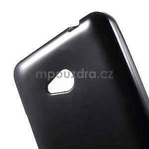 Gélový s-line obal na Microsoft Lumia 640 - čierny - 5