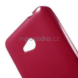 Gélový obal Microsoft Lumia 640 - červený - 5