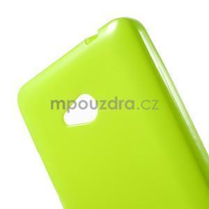 Gélový obal Microsoft Lumia 640 - zelený - 5