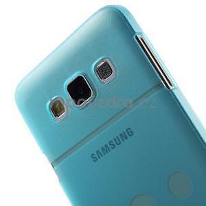 Plastový obal na Samsung Galaxy A3 - modrý - 5