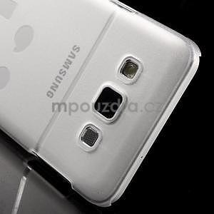 Plastový obal na Samsung Galaxy A3 - biely - 5
