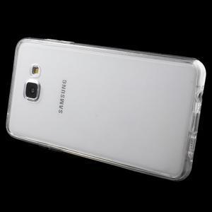Gélový obal 2v1 pro zadní kryt a displej pre Samsung Galaxy A5 (2016) - transparentný - 5