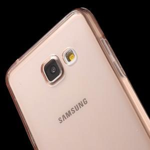 Gélový obal 2v1 pro zadní kryt a displej pre Samsung Galaxy A5 (2016) - rose gold - 5