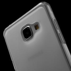 Matný gélový kryt pro Samsung Galaxy A5 (2016) - biely - 5