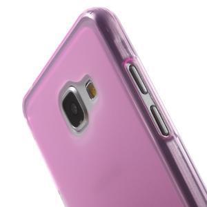Matný gélový kryt pro Samsung Galaxy A5 (2016) - rose - 5