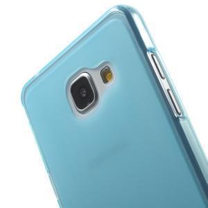 Matný gélový kryt pro Samsung Galaxy A5 (2016) - modrý - 5