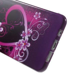 Obal s motívom pre mobil Samsung Galaxy A5 (2016) - srdca - 5