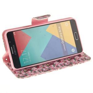 Puzdro pre mobil Samsung Galaxy A5 (2016) - ruže - 5