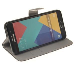 Wall peněženkové pouzdro na Samsung Galaxy A5 (2016) - vzorečky - 5