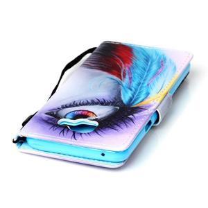 Puzdro s motivem na Samsung Galaxy A5 (2016) - barevné oko - 5