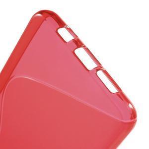 S-line gélový obal pre mobil Samsung Galaxy A5 (2016) - červený - 5