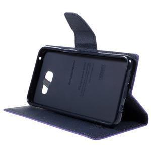 Fancy puzdro pre mobil Samsung Galaxy A5 (2016) - fialové - 5