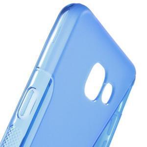 S-line gélový obal pre mobil Samsung Galaxy A5 (2016) - modrý - 5