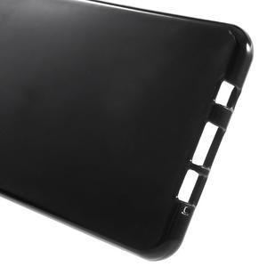 Jelly lesklý pružný obal na Samsung Galaxy A5 (2016) - černý - 5