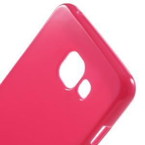 Jelly lesklý pružný obal pre Samsung Galaxy A5 (2016) - rose - 5