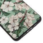 Gélový obal s koženkovým vzorem pre Samsung Galaxy A5 (2016) - kvety - 5/6