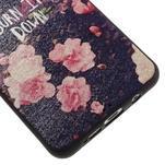 Gelový obal s koženkovým vzorem na Samsung Galaxy A5 (2016) - růže - 5/6