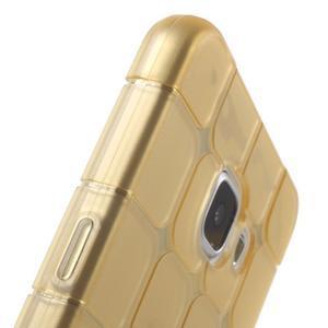 Cube gelový kryt na Samsung Galaxy A5 (2016) - zlatý - 5