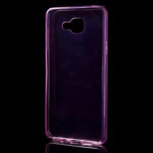 Ultratenký slim gelový obal na Samsung Galaxy A5 (2016) - rose - 5
