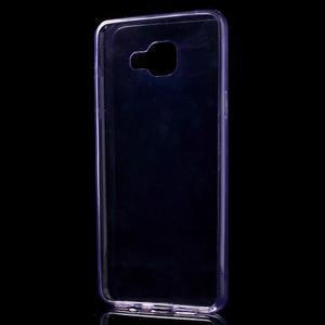Ultratenký slim gelový obal na Samsung Galaxy A5 (2016) - fialový - 5