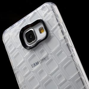 Square gélový obal pre mobil Samsung Galaxy A5 (2016) - transparentný - 5