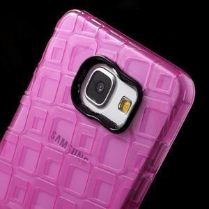 Square gelový obal na mobil Samsung Galaxy A5 (2016) - rose - 5