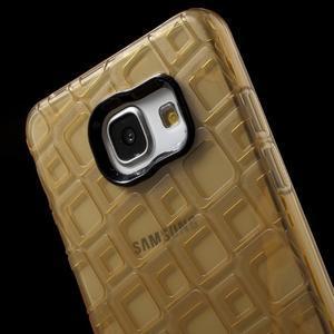 Square gélový obal pre mobil Samsung Galaxy A5 (2016) - zlatý - 5