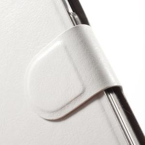 Horse puzdro pre mobil Samsung Galaxy A5 (2016) - biele - 5