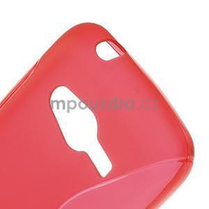 Gélové s-line puzdro na Samsung Galaxy Ace 4 - červené - 5