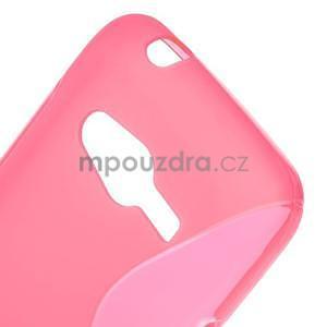 Gélové s-line puzdro pre Samsung Galaxy Ace 4 - ružové - 5
