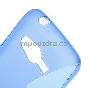 Gélové s-line puzdro pre Samsung Galaxy Ace 4 - modré - 5