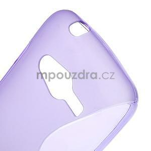 Gélové s-line puzdro pre Samsung Galaxy Ace 4 - fialové - 5