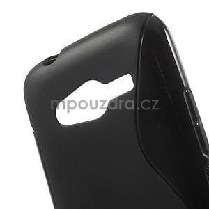 Gélové s-line puzdro na Samsung Galaxy Ace 4 - čierné - 5