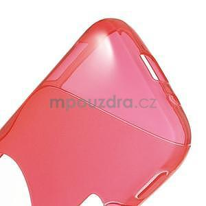 Červený s-line gélový kryt na Samsung Galaxy K Zoom C115 - 5